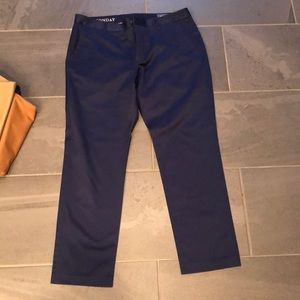 Perfect cond. bonobos dress pants 35x30 athletic